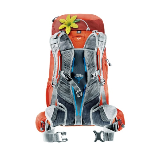 deuter act trail pro back system